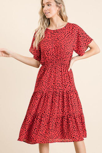 Bibi Dress, Red