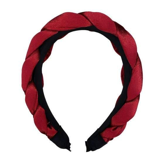 Blair Headband, Burgundy