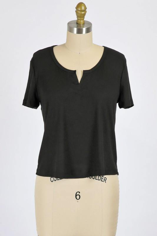 Camille Top, Black