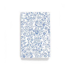 Blue Meadow Bunnies Layflat Journal