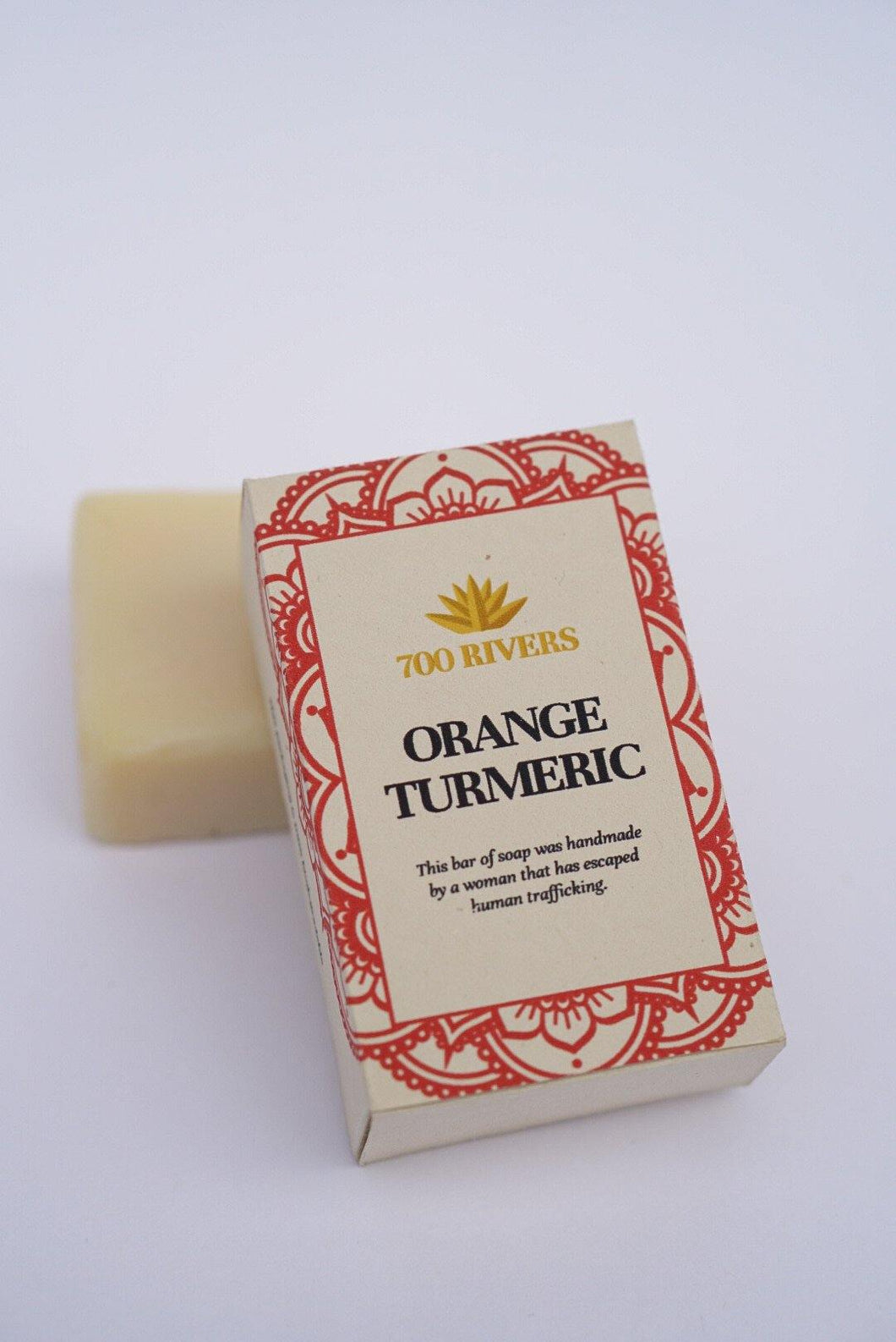 700 Rivers Soap, Orange Tumeric