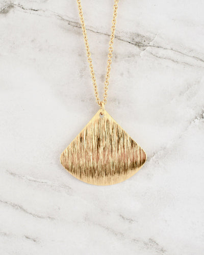 Havanna Necklace, Rounded Triangle