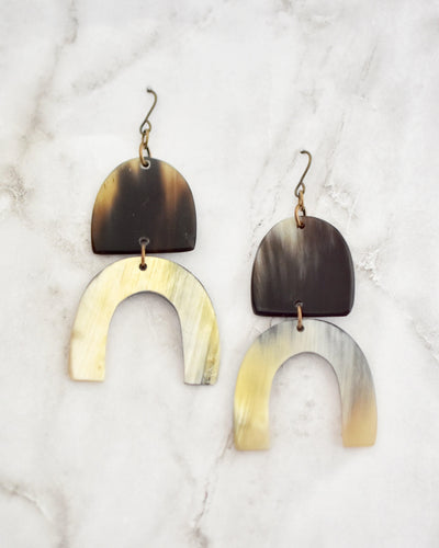 Espen Earrings, Dark