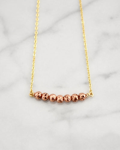 Heart Collection, Rose Gold Lava