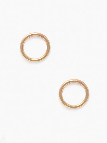 Celine Stud Earrings, Gold