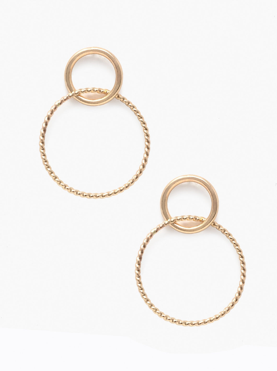 Virgil Earrings, Gold