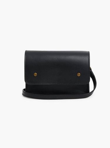 Mare Convertible Belt Bag, Black