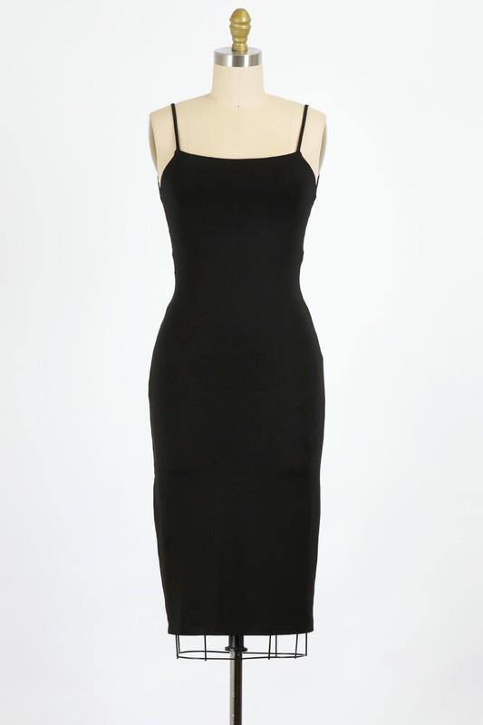 Francesca Dress, Black