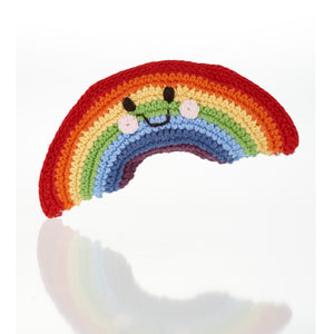 Friendly Rainbow Rattle