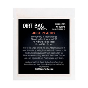Dirt Bag Single Use Masks, Just Peachy - Rose & Lee Co