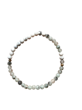 Load image into Gallery viewer, Morse Code Mother Bracelet, Jasper & Marble