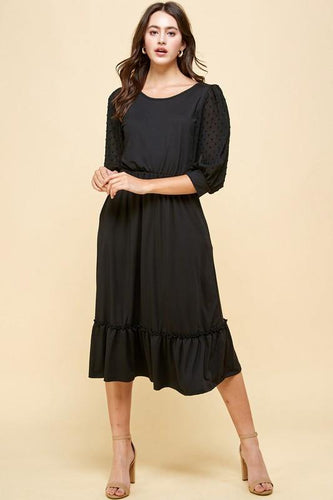 Jayla Dress, Black