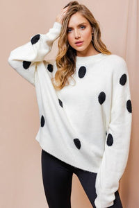 Jazmine Sweater, Ivory