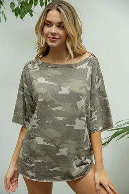 Maeve Top, Olive