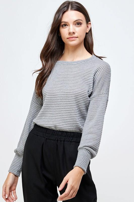 Paloma Sweater, Grey