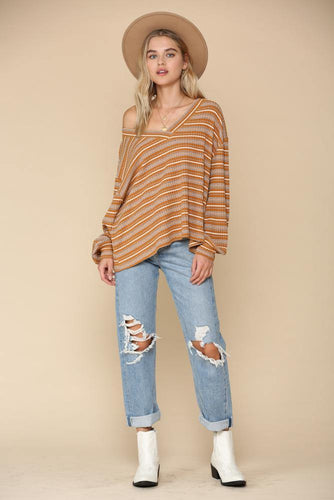 Helena Top, Mustard - Rose & Lee Co