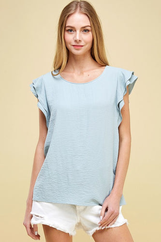 Riley Top, Blue