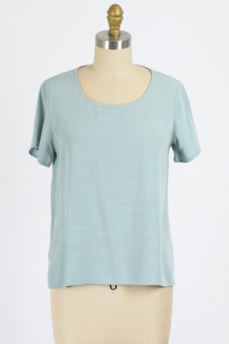 Rylie Top, Frosty Green