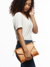 Load image into Gallery viewer, Solome Crossbody Bag, Cognac
