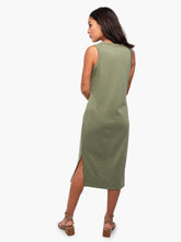 Load image into Gallery viewer, Shilpa Midi Tank Dress, Olive