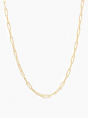 Essential Chain Necklace, Gold