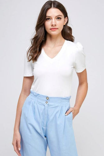Sloan Top, Off-White