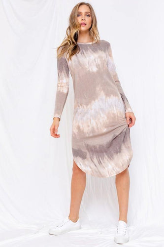 Sylvie Dress, Taupe