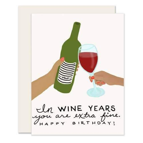 Wine Years Card