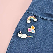 Load image into Gallery viewer, Enamel Pins, Rainbow