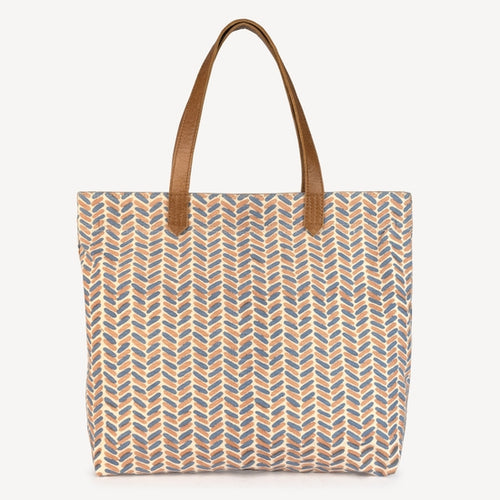 Chaaya Canvas Tote, New Fern