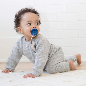 Brice Blue Pacifier Clip