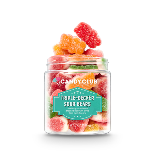 Gummies, Triple-Decker Sour Bears