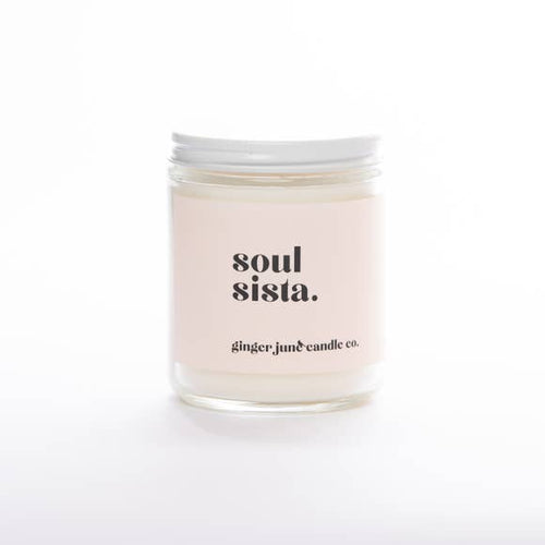 Soul Sista, Lavender Amber Candle
