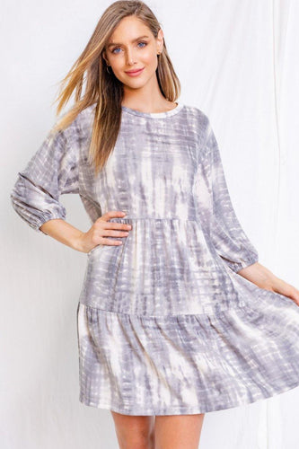 Valentina Dress, Grey