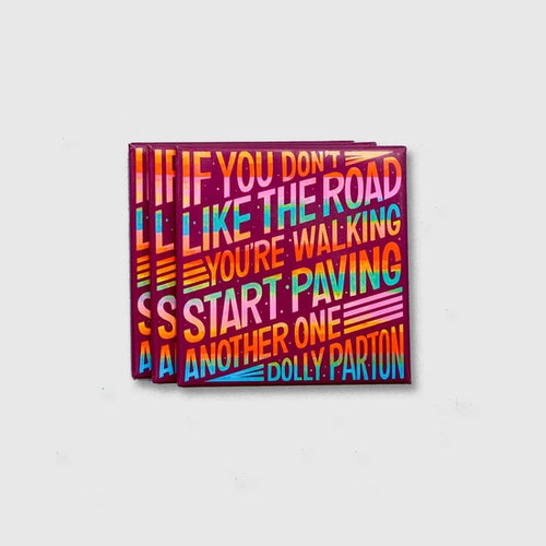 Dolly Parton Quote Magnet