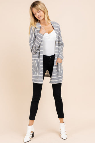 Celia Cardigan, Grey