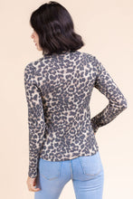Load image into Gallery viewer, Remy Top, Taupe Leopard