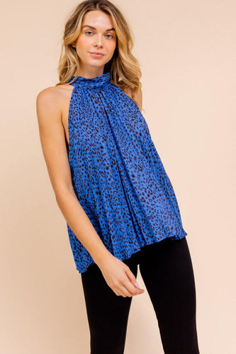 Chloe Top, Royal Blue