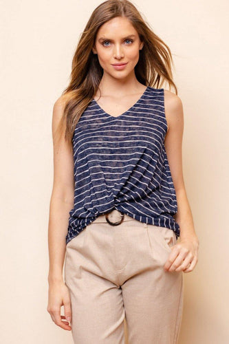 Ada Tank, Navy & White