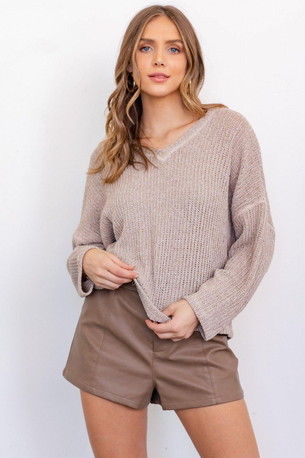 Collins Top, Oatmeal