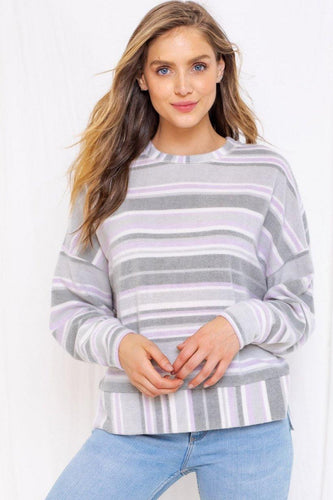 Waverly Top, Sage/Lavender - Rose & Lee Co