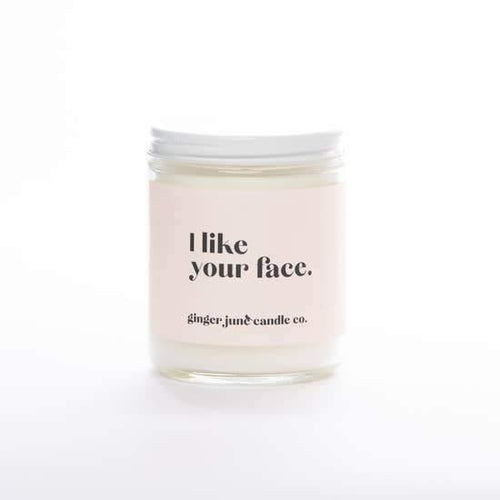 I Like Your Face Candle, Moonshine