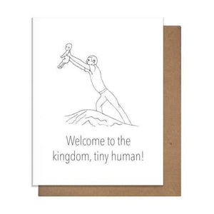 Kingdom Baby Card - Rose & Lee Co