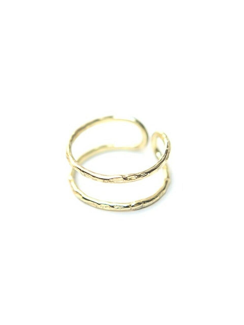 Illusion Ring, Brass