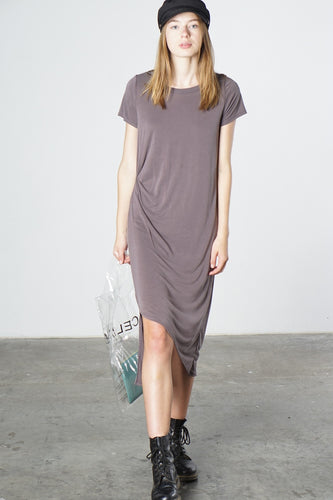 Bianca Dress, Plum