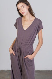 Jo Jumpsuit, Dusty Plum