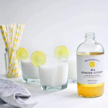 Load image into Gallery viewer, Ginger Citrus Cocktail Mixer