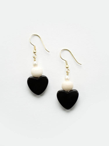 Carnaby Earrings, Black