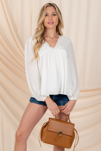 Kaia Top, White