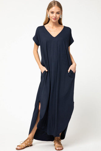 Marybeth Dress, Navy
